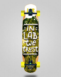 Lab skate skateboard longboard complete mix bamboo 38x8.45 In lab we trust