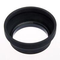 Pare-soleil Caoutchouc Silicone pour Objectif Photo Standard diamètre 67mm