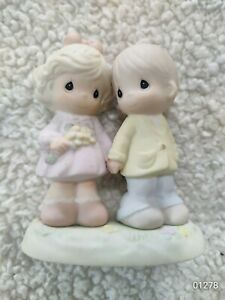 1996 Precious Moments  Your Forever In My Heart Figurine Loose #139548 Love