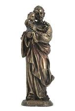 St. Joseph Sculpture Holding Baby Jesus Statue Figurine