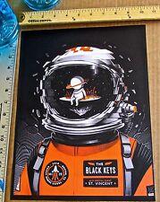 The Black Keys Band Mini Concert Poster Reprint 2014 Austin TX Gig  14x10 No 5