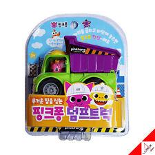 Pinkfong Mini Heavy Vehicle Equipment Dump Truck Pullback Car Baby Kids Toy 2019