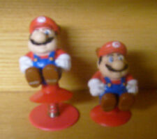 Vintage Super Mario Bros. PVC Figures Poppers Applause 1989 Nintendo Toy FRE S/H