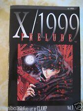 X 1999 prelude Japanese Manga by Clamp Studios Fantastic Anime Novelization Rare