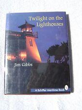 TWILIGHT ON THE LIGHTHOUSES  BOOK MARITIME NAUTICAL MARINE (#009)