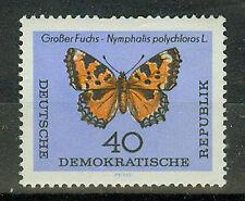 DDR Briefmarken 1964 Schmetterlinge Mi 1008 ungestempelt