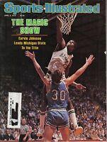 1979 4/2 Sports Illustrated magazine Basketball Magic Johnson,Michigan State Fr