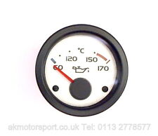 GENUINE MG ROVER MGF MG TF OIL TEMPERATURE DASH GUAGE YAD101020