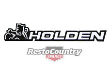 Holden Commodore Badge - HOLDEN - Boot  all VK. VL Calais
