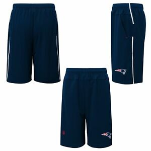 Outerstuff NFL Football Youth New England Patriots Jets Flash Shorts, Navy