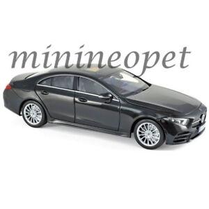 NOREV 183592 2018 MERCEDES BENZ CLS CLASS 1/18 DIECAST MODEL CAR BLACK
