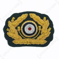 Army General Visor Cap Wreath and Cockade - WW2 Repro Badge German Insignia New