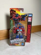 Transformers War For Cybertron: Kingdom Optimus Prime Core Class Figure IN STOCK