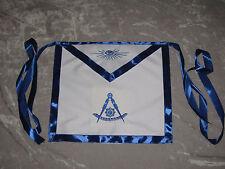 Masonic Past Master Apron Freemason Blue Lodge Fraternity NEW!