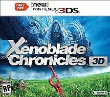 Xenoblade Chronicles 3D (Nintendo 3DS, 2015)