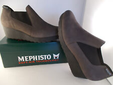 Mephisto Tosca Grey Bucksoft Handmade Soft-Air Women's Shoes Size 9 New In Box