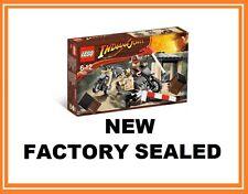 Lego Indiana Jones película Motocicleta Chase Juego 7620 nuevo soldado alemán Minifig