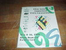 1999 The Eddleman Pro Tennis Classic Tennis Program Brook Highland Racquet Club