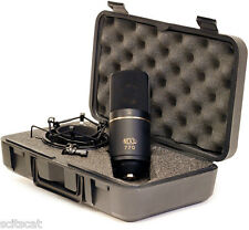 New MXL 770 Small Condenser Vocal Instrumental Microphone Mic Kit - Black Finish