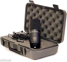 New MXL 770 Small Condenser Vocal Instrumental Microphone Mic Kit - Black Finish