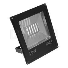 50W SMD Outdoor LED Flood Light 6000K Daylight IP65 Black Waterproof