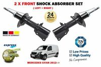 FOR CITROEN DISPATCH MPV VAN TEPEE 2007-/> 2X FRONT LEFT RIGHT SHOCK ABSORBER SET