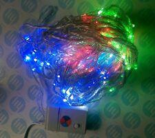 LED Multi Color (blanco, azul, rojo, verde) Twinkle Luz 2m X 2m con control