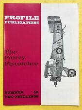 no.56 - AIRCRAFT Profile Publications - The Fairey Flycatcher - Aviazione -