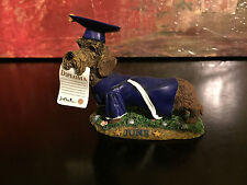 Danbury Mint Perpetual Calendar Graduation Day Winnie Dog Figurine Month June