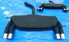 Auspuff VW Scirocco 3 1,4 2,0 EZ. ab 2008 INOX  Sport-Duplex 4 x 70 mm.