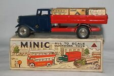 1950's Triang Minic Delivery Truck with Original Cases and Original Box