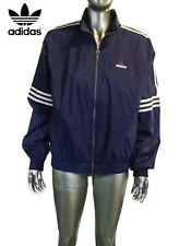 af91119b0448 New ListingVintage ADIDAS 1990s 3 Stripes Track Jacket Size M Windbreaker  Navy Blue