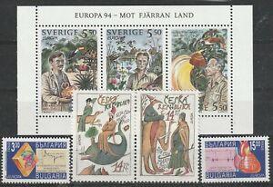 Europa Cept 1994 3 Länder **