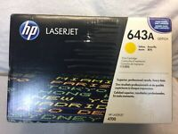 643A (Q5952A) HP LaserJet Yellow Toner Cartridge (2229)