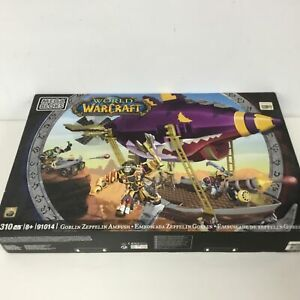MEGA BLOKS World of Warcraft WOW Set 91014 Goblin Zeppelin Ambush #404