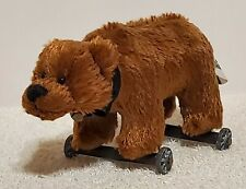 "Ganz Cottage Collectibles Miniatures - Bear on Wheels by Lorraine, 1999, 5"", TA"