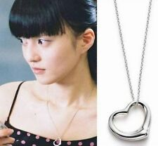 Silver Plated Small Heart Necklace Heart Pendant Stylish Gift for Girls