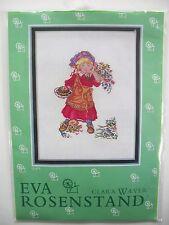 Little Girl Puppy Cross Stitch Kit Eva Rosenstand Clara Waever No. 12-971
