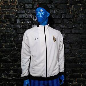 Juventus JUVE Training Jacket With Zipped White Nike Polyester Mens Size L