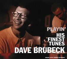 DAVE BRUBECK - PLAYIN' HIS FINEST TUNES CD- FREE POST IN UK