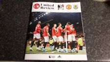 Manchester United v Burnley matchday programme 22.01.20