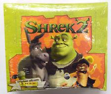 2004 Panini Shrek 2 Factory Sealed Sticker Box