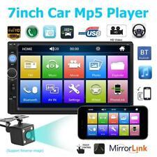 7010B 7'' HD Car Stereo MP5 MP4 MP3 Player AUX USB FM Radio TF Head UnitBT w/Cam