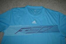 Adidas F50 Pes Performance Jersey Shirt Color: Aqua/Dark Blue Men's Large NWT