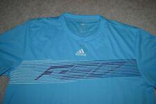 Adidas F50 Pes Performance Jersey Shirt Color: Aqua/Dark Blue Men's X-Large NWT