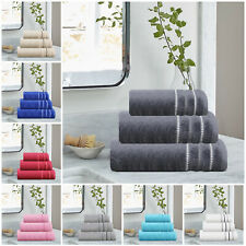 Premium Quality Egyptian Cotton Bath Hand Face Towels and 600Gsm Bath Sheet