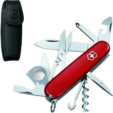 Swiss Army Knife With Pouch Explorer Red Victorinox 53823