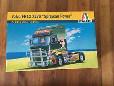 italeri 1:24 Volvo FH12 XL70 Spraycan Power No.3840