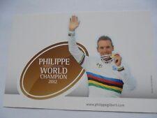 wielerkaart 2012 team bmc  philippe gilbert  wk
