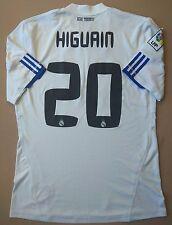 5/5 Real Madrid Home football shirt 2010~2011 CUP №20 HIGUAIN ORIGINAL ADIDAS